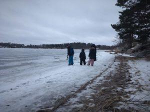 seurassari strand winter